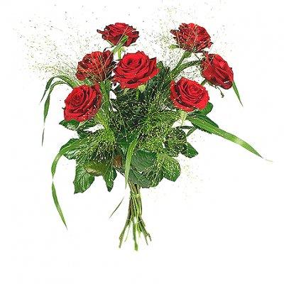 skicka blommor söndag